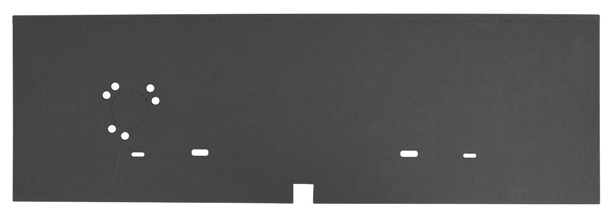 Divider Board, Trunk, 1968-72 A-Body Convertible