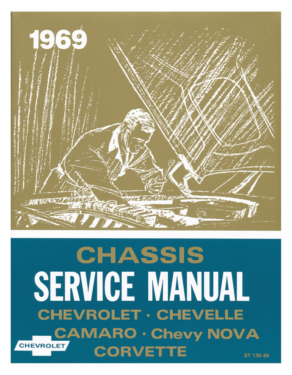 Chassis Service Manual, 1969 Chevrolet