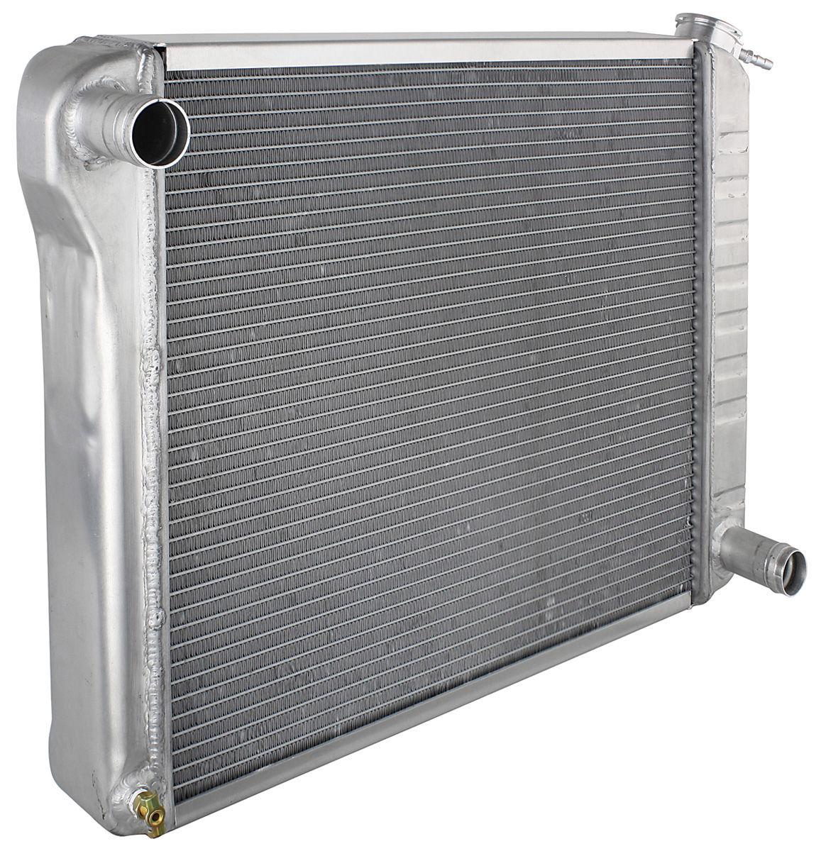 Radiator, 1968-77 Chevrolet, BOP, Aluminum, MT, Satin