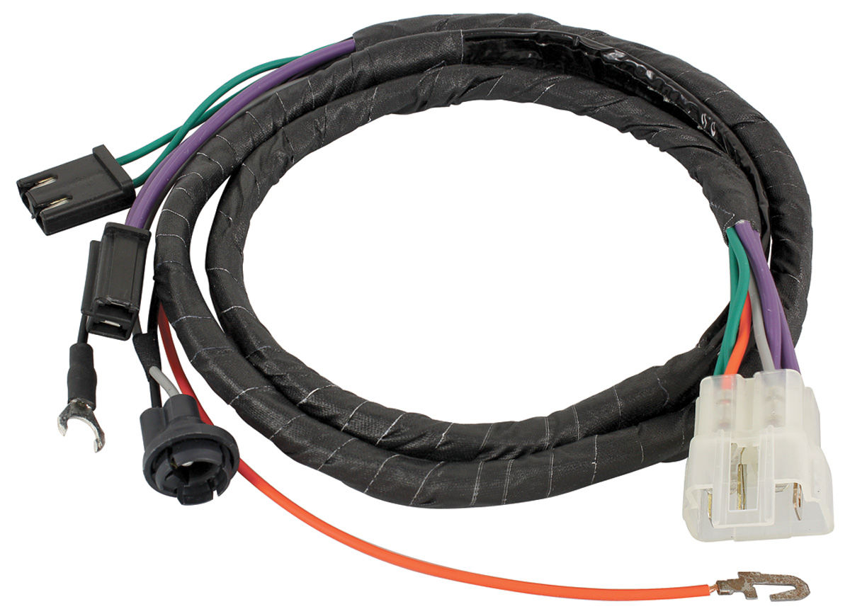 Wiring Harness  Console  1968 Gto  Lemans  Tempest  Man  Trans