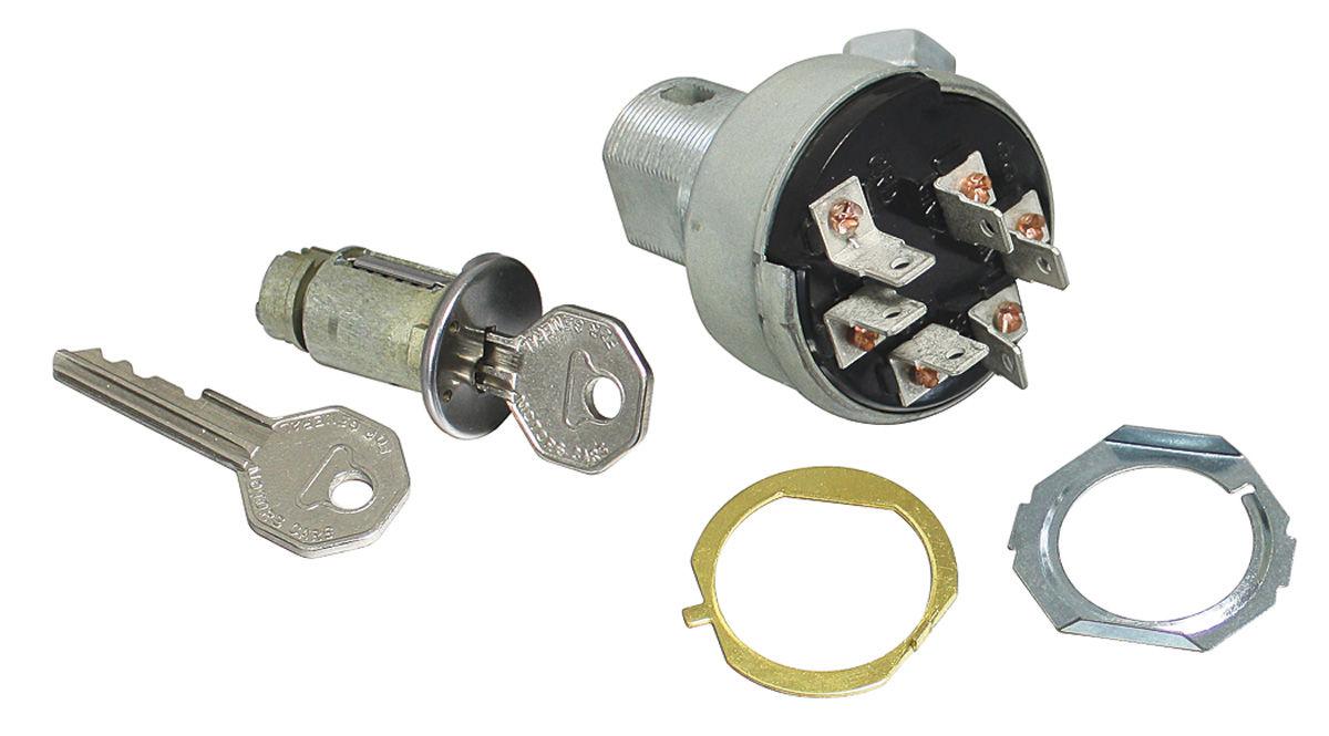 Switch, Ignition, 1966-67 Pontiac A-Body, w/ Cylinder