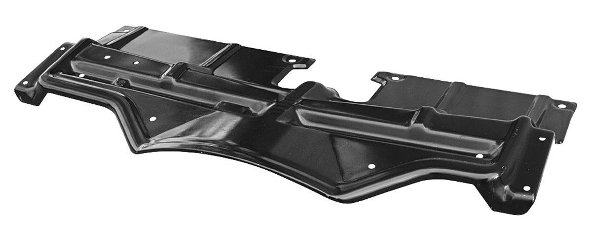 Top Plate, Radiator Support, 1968 Pontiac, Black