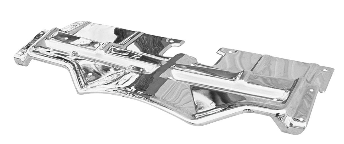 Top Plate, Radiator Support, 1968 Pontiac, Chrome