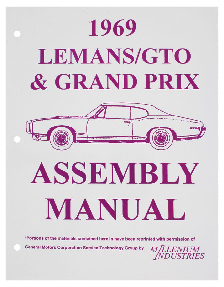 Assembly Manual, 1969 GTO/Grand Prix
