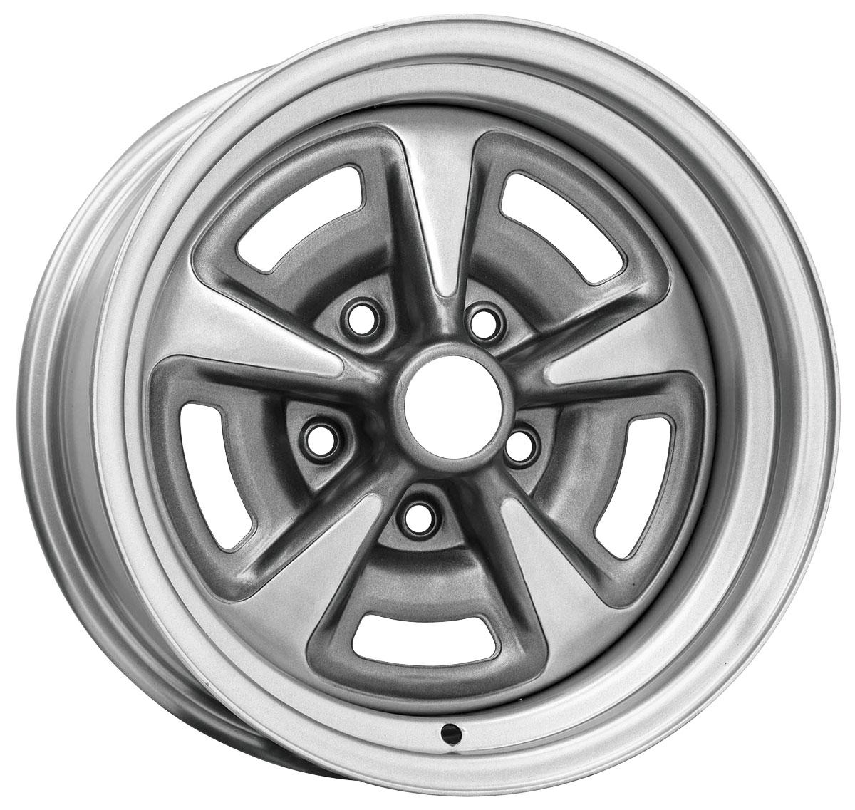 "Wheel, Pontiac Rally II, 15X8, 4-1/2"" Back Spacing"