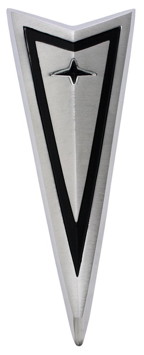 Emblem, Hood, 1966 Bonneville/Catalina/Grand Prix