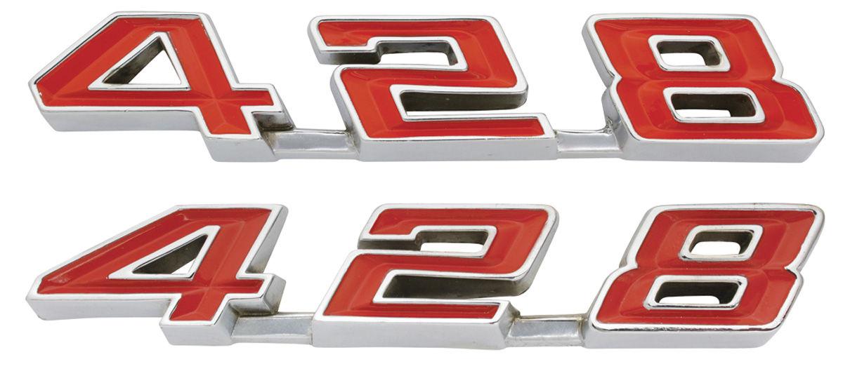 Emblem, Rocker Panel, 1967 Bonneville/Catalina/Grand Prix,