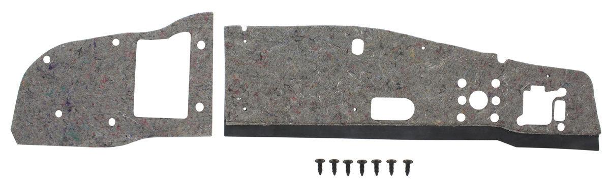 Insulation Pad, Firewall, 1965-66 Bonneville/Catalina/Grand Prix, w/ AC