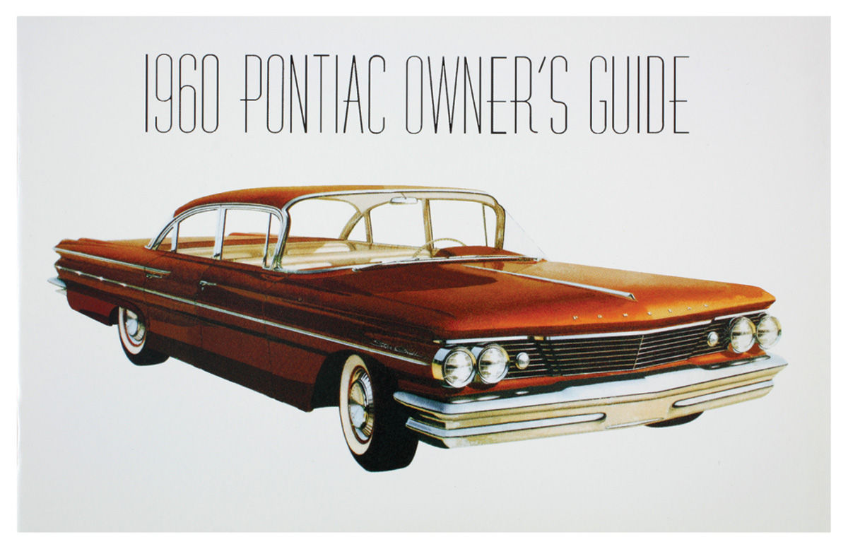 Owners Manual, 1960 Bonneville/Catalina