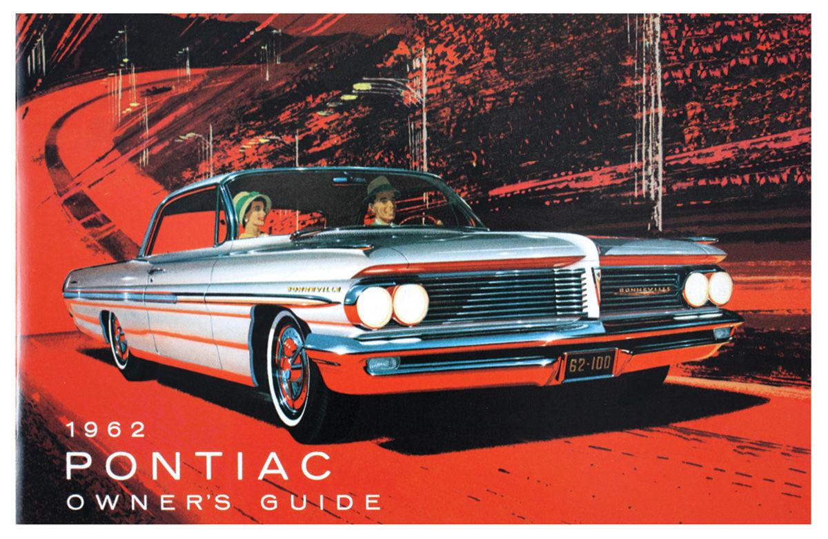 Owners Manual, 1962 Bonneville/Catalina/Grand Prix