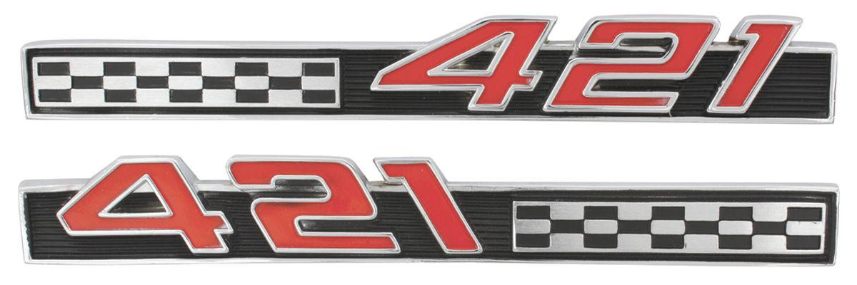 Emblem, Fender, 1966 Bonneville/Catalina/Grand Prix, 421