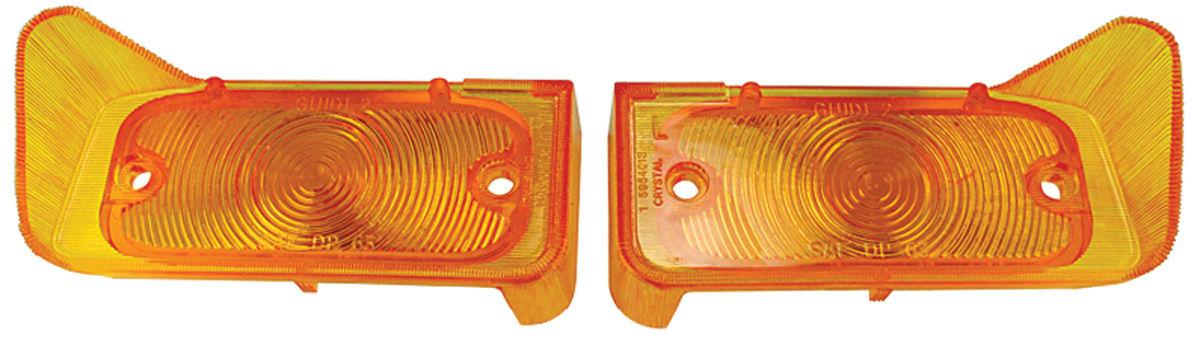 Lens, Park Lamp, 1964 GTO/1963-65 Bonn/Cat/1966-67 Lem/Temp, Amber
