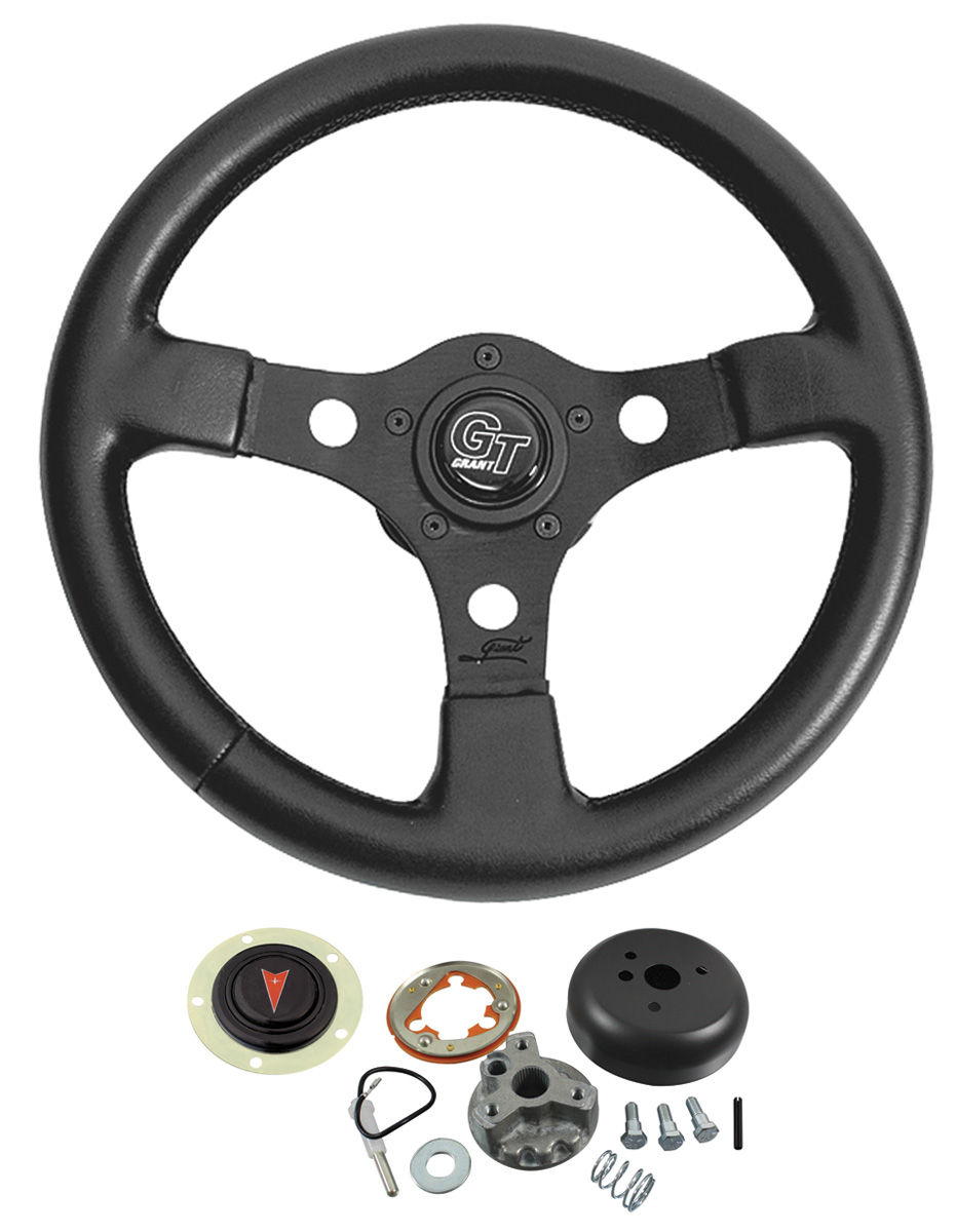 Steering Wheel Kit, Formula GT, 1959-63/1967-68 Pontiac, Black