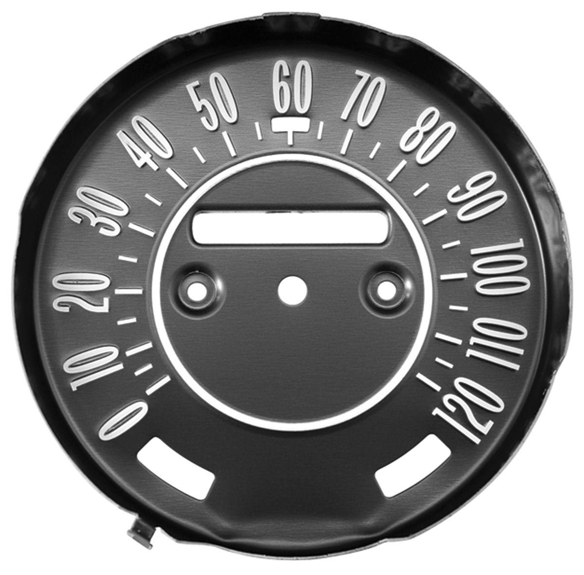 Faceplate, Speedometer, 1968-69 Cutlass/442