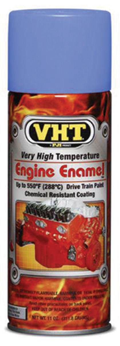 Paint, Engine, VHT Pontiac Blue Hi-Temp , 11-oz.