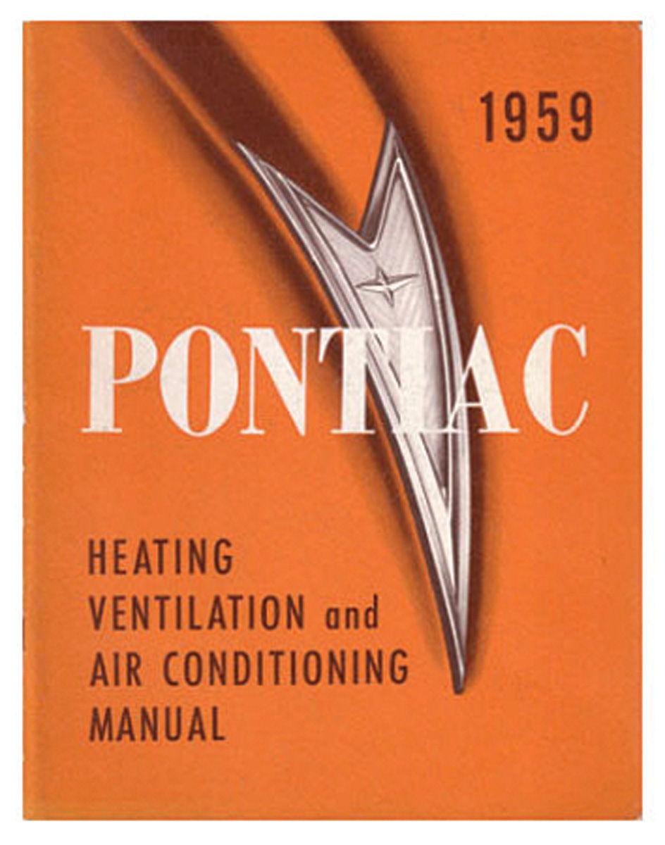 Manual, Air Conditioning, 1962 Bonneville/Catalina