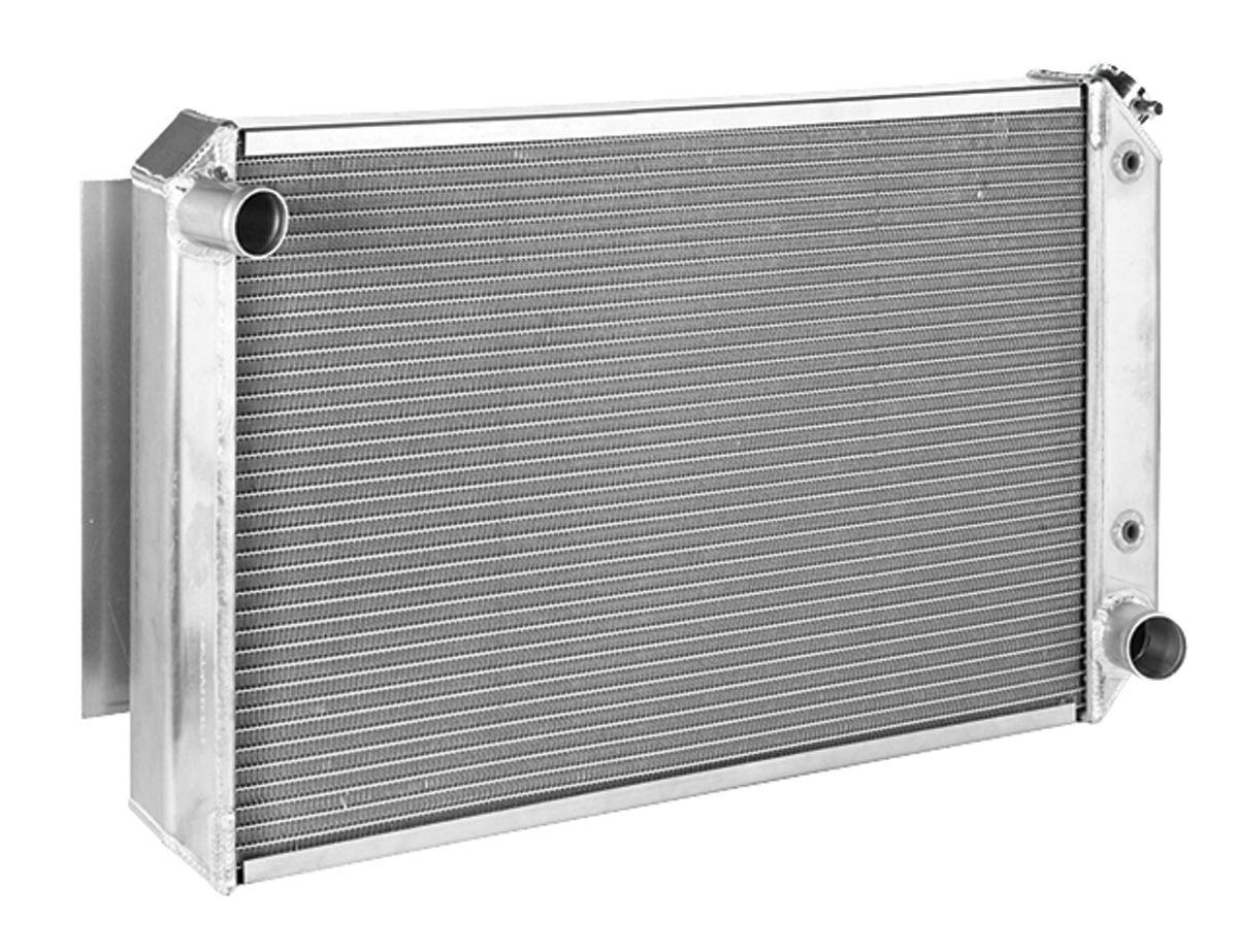 Radiator, Aluminum, Be Cool, 1965-68 Bonn/Cat/GP, Manual Trans, Natural