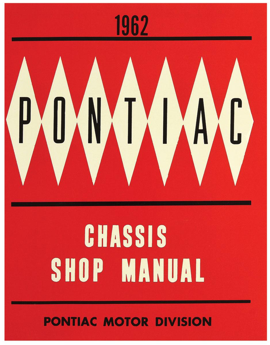 Manual, Chassis Service, 1962 Bonneville/Catalina/Grand Prix