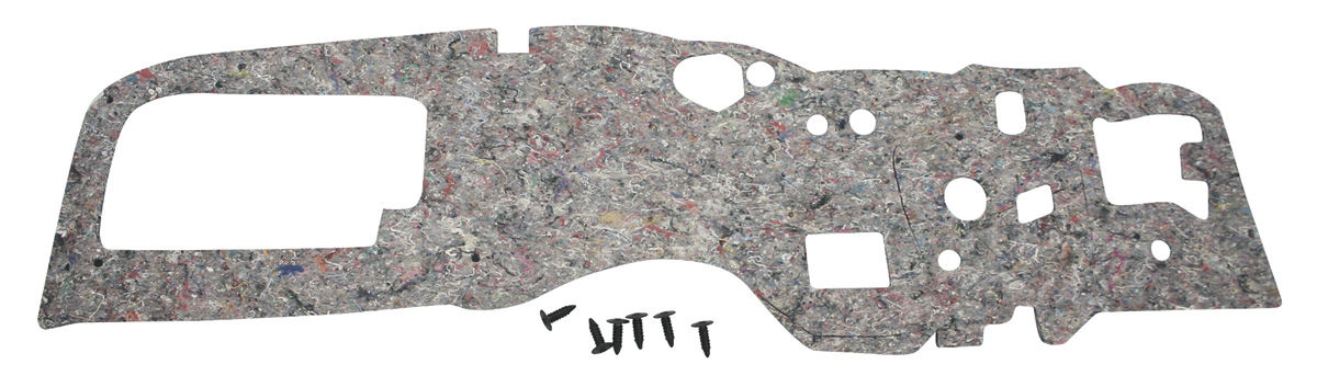 Insulation Pad, Firewall, 1965-66 Bonneville/Catalina/Grand Prix, w/o AC