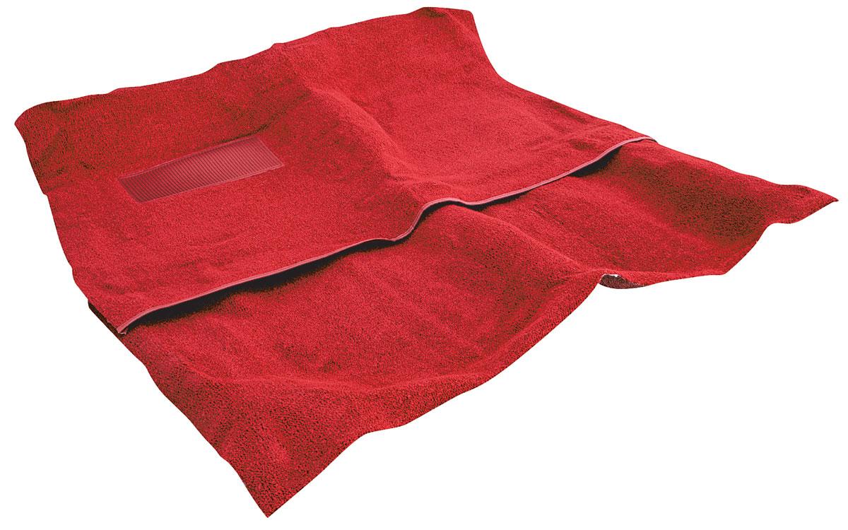 Carpet, 80/20 Loop, 1964-67 A-Body Exc. GTO, 4-Speed, 2pc