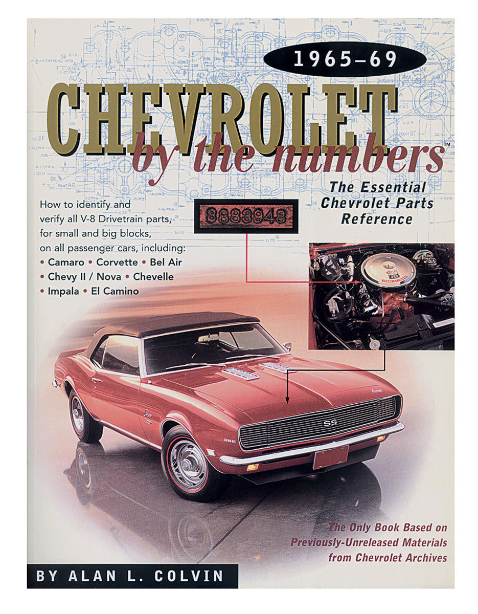 Book, 1965-69 Chevrolet By The Numbers