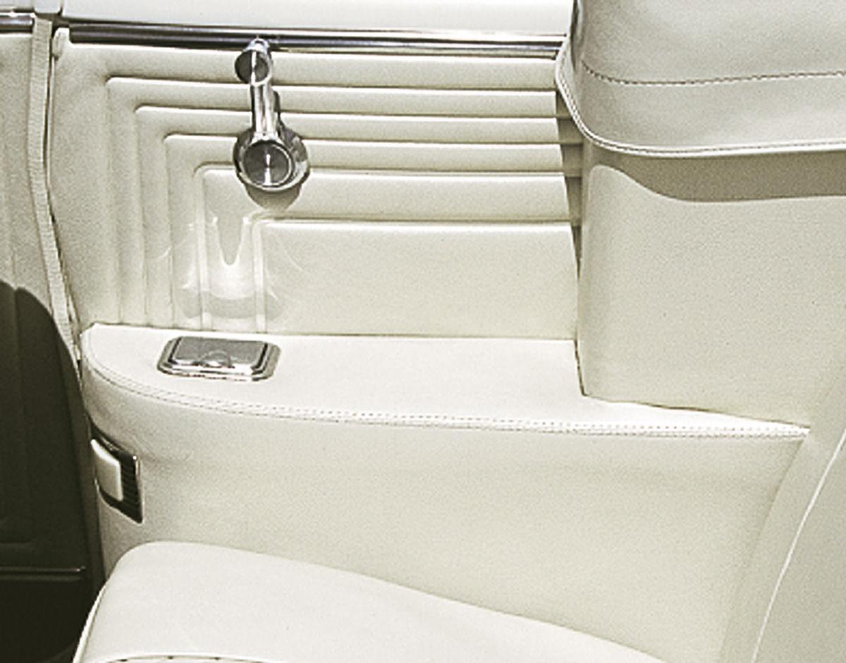 Armrest Covers, Rear, 1965-67 Bonneville/Catalina & 1967 Grand Prix Convertible