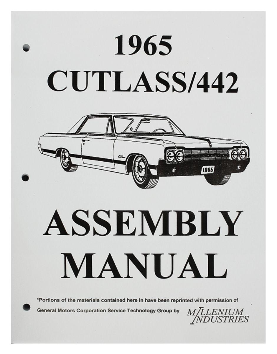 Assembly Manual, 1965 Oldsmobile