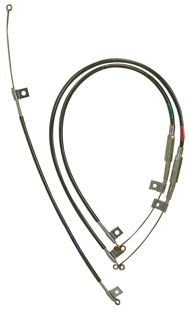 Heater Control Cables, 1969 Bonn/Cat, 3pc
