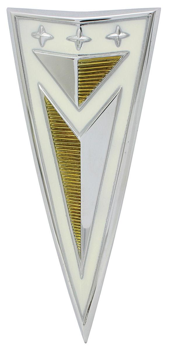 Emblem, Trunk Lid, 1963 Bonneville/Catalina