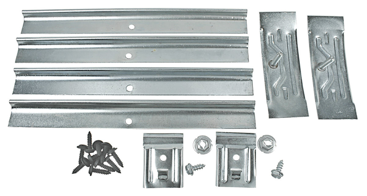 Clip Kit, Rocker Molding, 1967 Pontiac A-Body