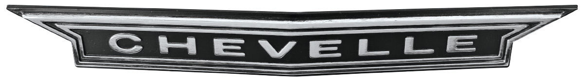 "Emblem, Grill, 1966 ""Chevelle"""
