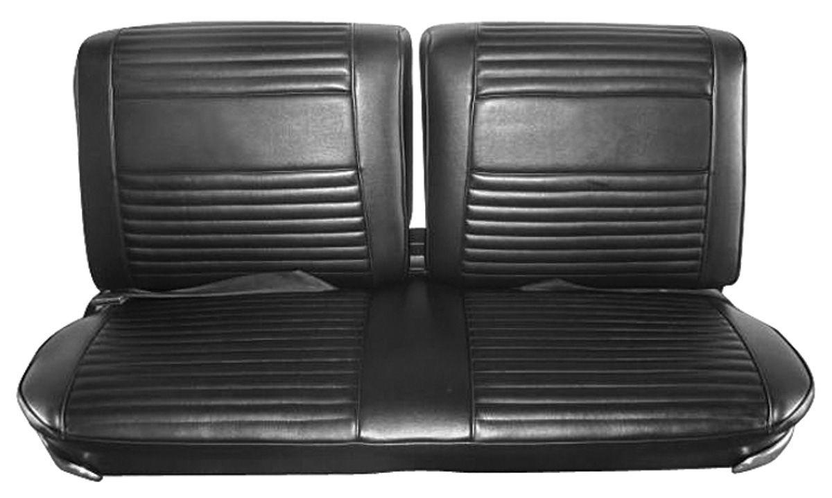 Seat Upholstery, 1966 Riviera, Standard Rear