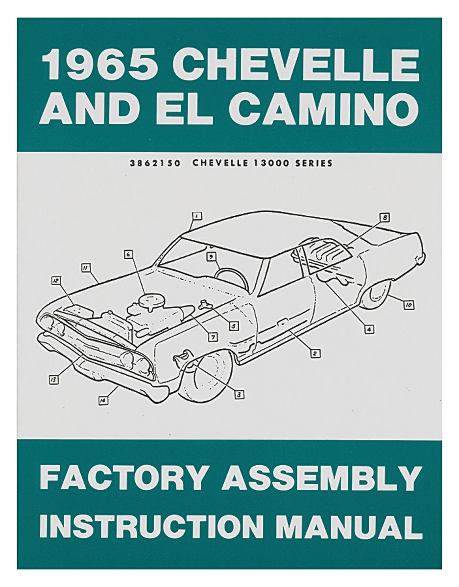 Factory Assembly Manual, 1965 Chevelle/El Camino