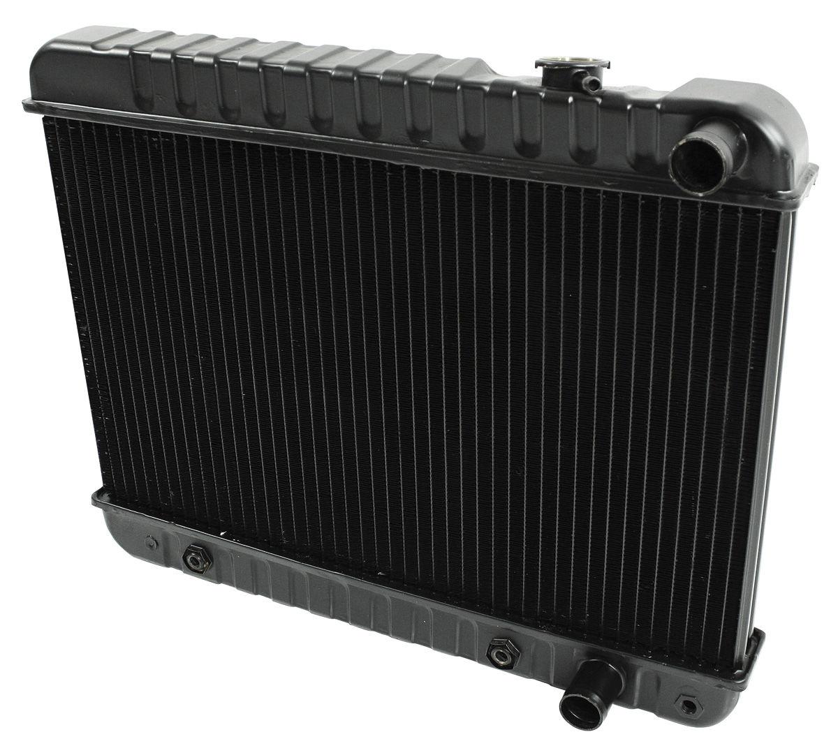 "Radiator, 1961-63 Skylark, 6-Cyl., Manual, 2-Row, 12-3/8"" X 25-1/4"" X 1-1/4"""
