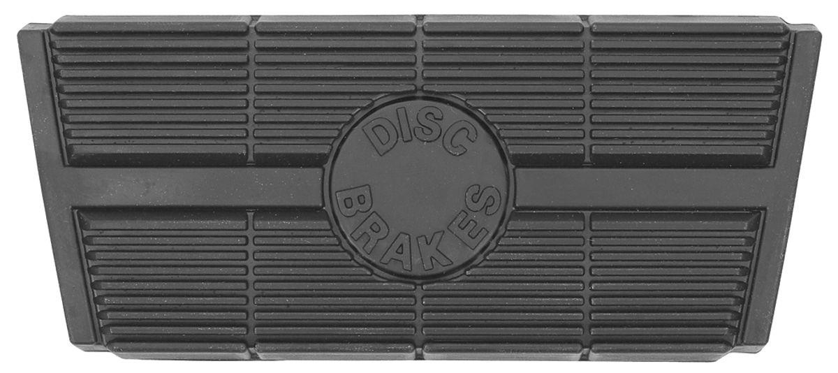 Pad, Pedal, 1973-77 Cutlass, Brake, Auto. Trans., Disc