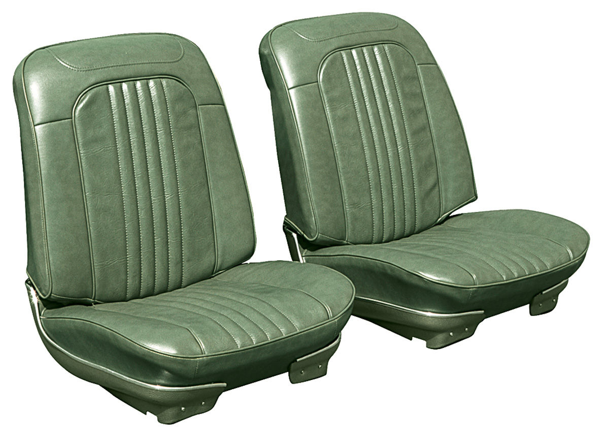 Bucket Seats, 1971-72 Chevelle/El Camino, Assembled w/o Headrests