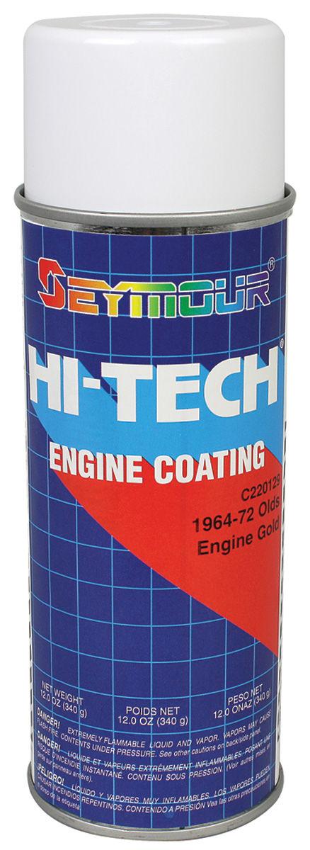 Engine Paint, 1964-72 Olds 330-350 Gold, 12-oz.