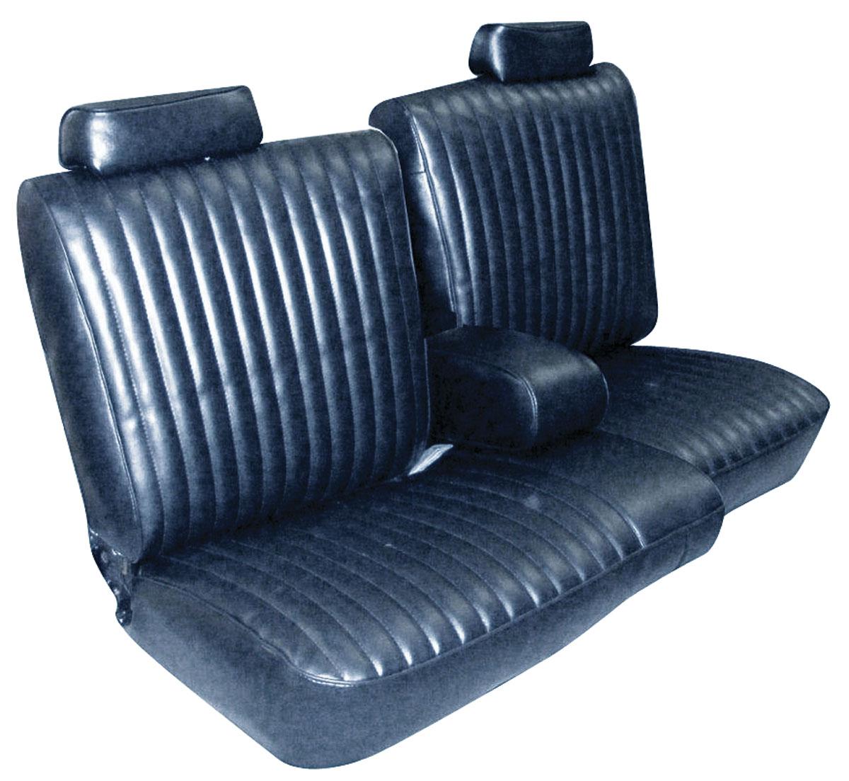 Seat Upholstery 1981 87 El Camino 1981 Malibu Front