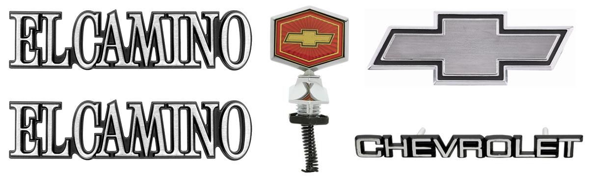 Emblem Kit, 1982-87 El Camino