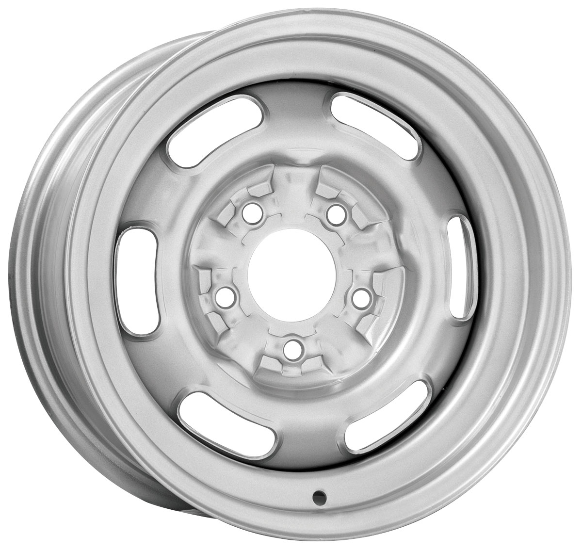 "Wheel, Pontiac Rally I, 14X6, 4"" Back Spacing"