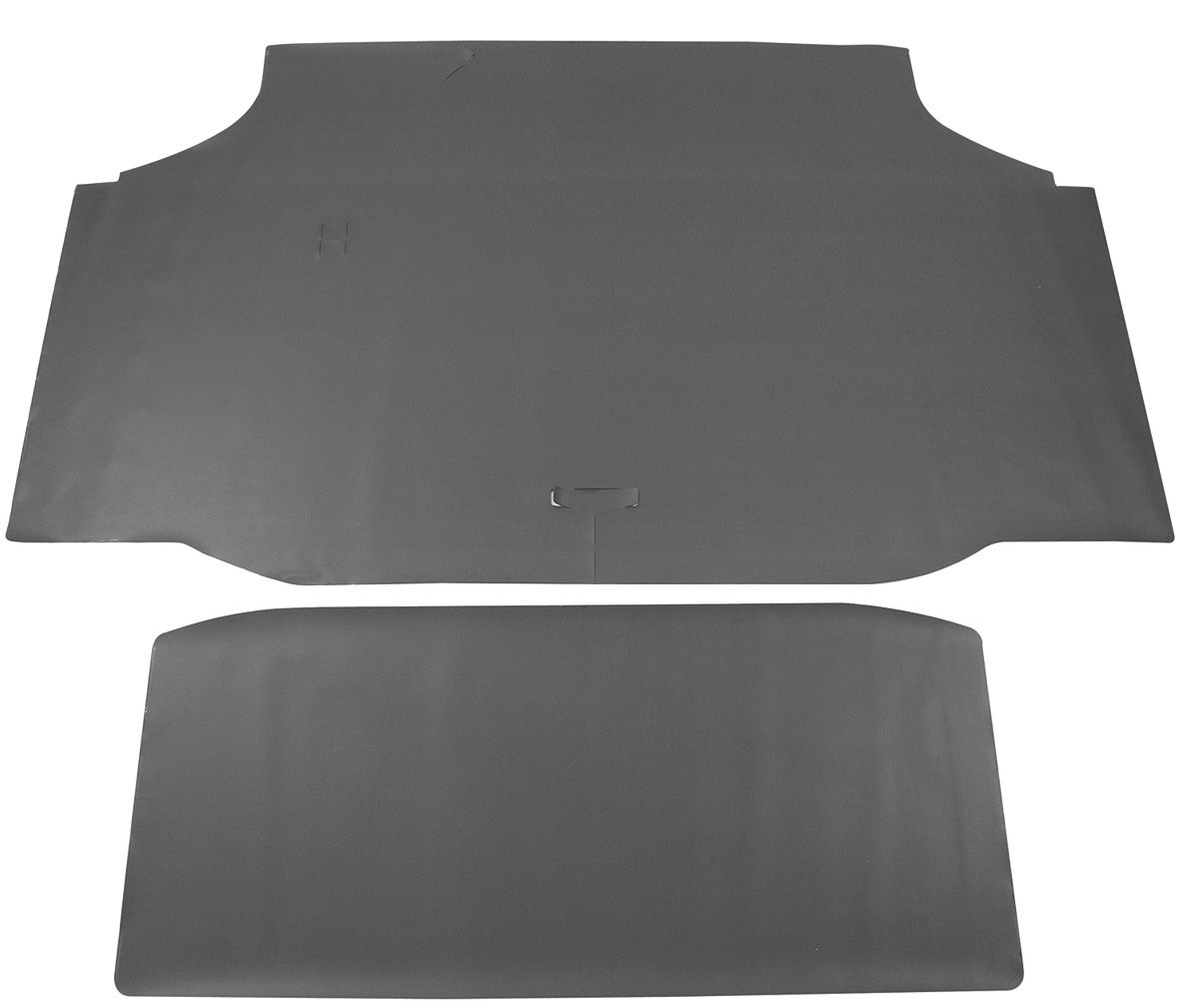 Trunk Mat, Felt, 1970-72 Cutlass, Green/Gray