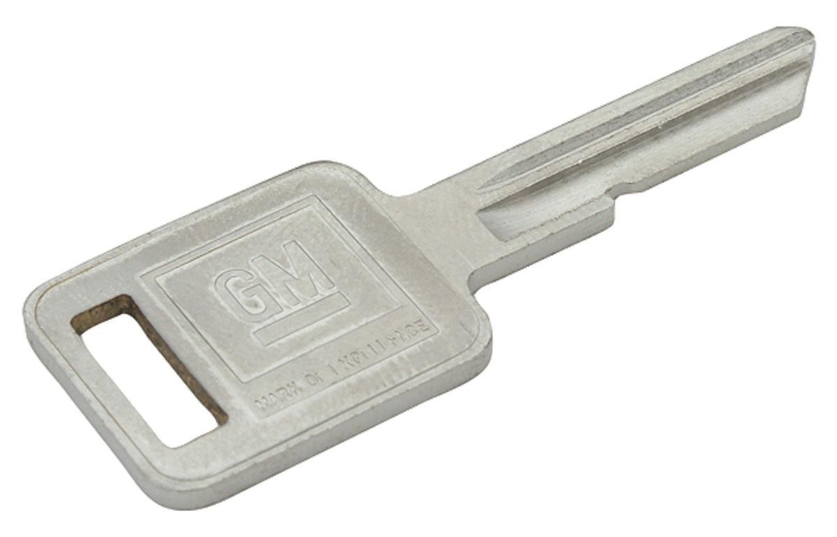 Key Blank, 1969/1973/1977/1981, Square (E)