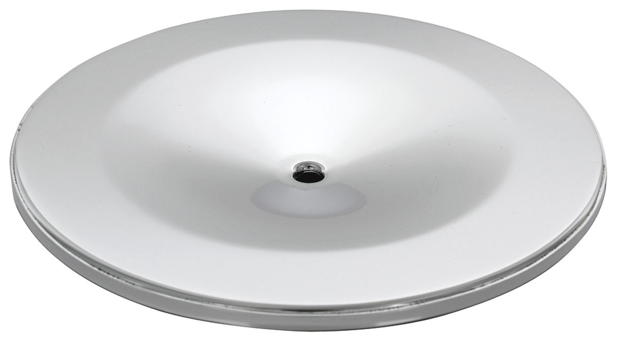 Air Cleaner Lid, 1959-66 Pontiac/1966 Cutlass Tri-Power, Chrome
