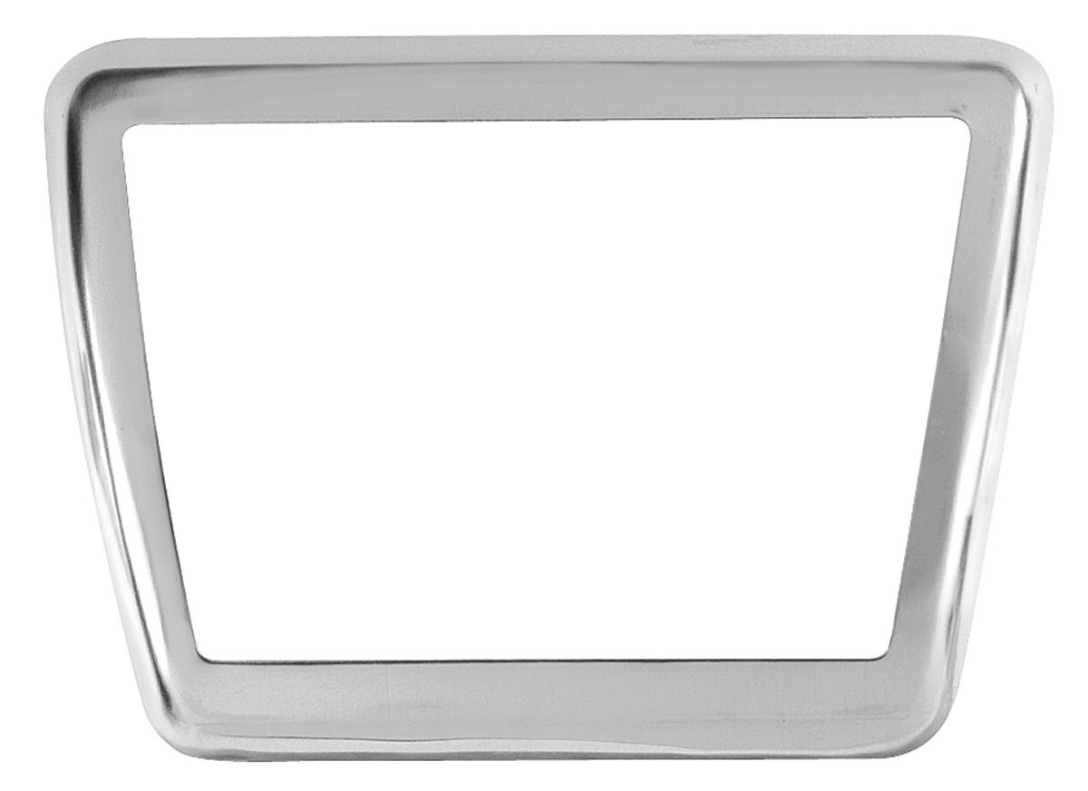 Plate, Pedal Trim, 1964-72 GTO/1965-72 Grand Prix/1965-70 Bon/Cat, Clutch/Brake