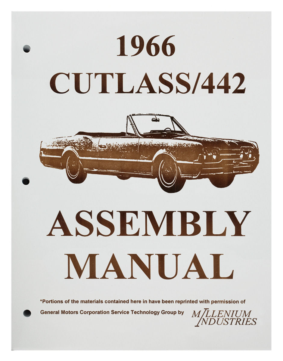 Assembly Manual, 1966 Oldsmobile