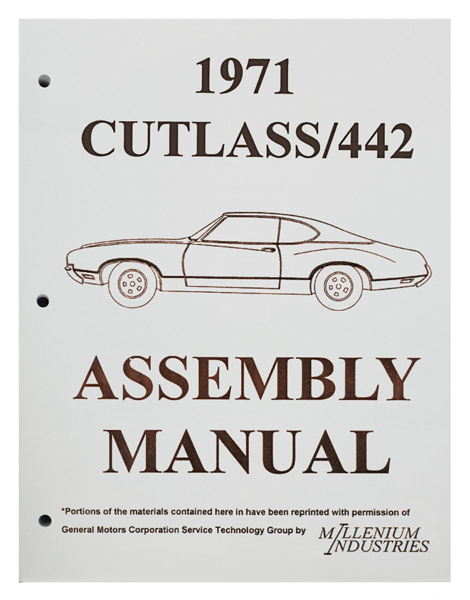 Assembly Manual, 1971 Oldsmobile