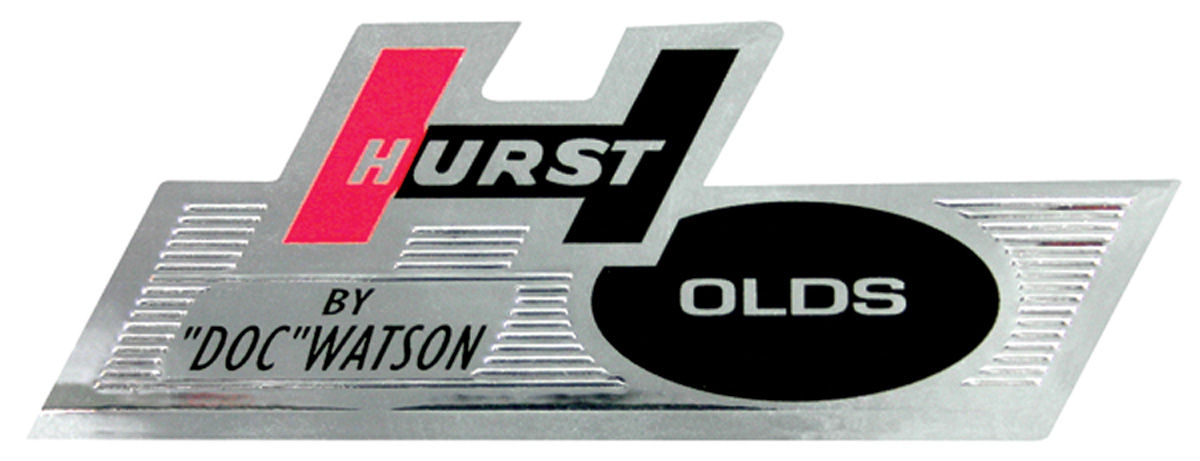 Decal, 68 Cutlass, Glove Box, Hurst Olds