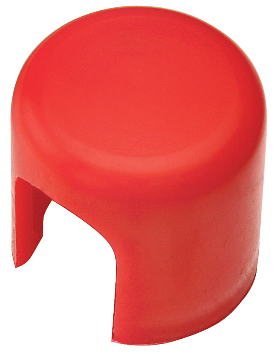 Alternator End Cap, 61-77 Oldsmobile, Red