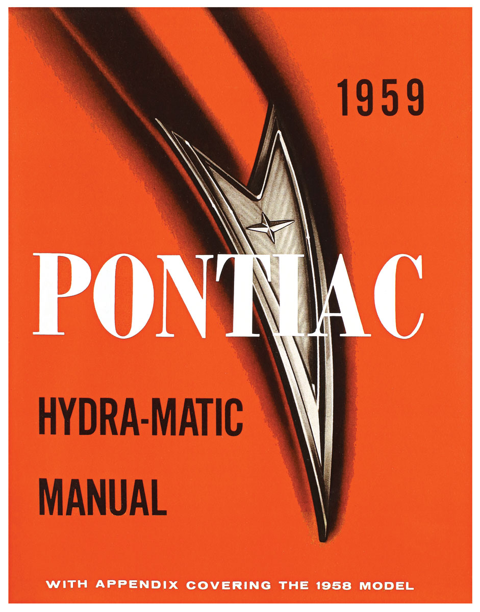 Manual, Hydramatic Transmission, 1959 Bonneville/Catalina