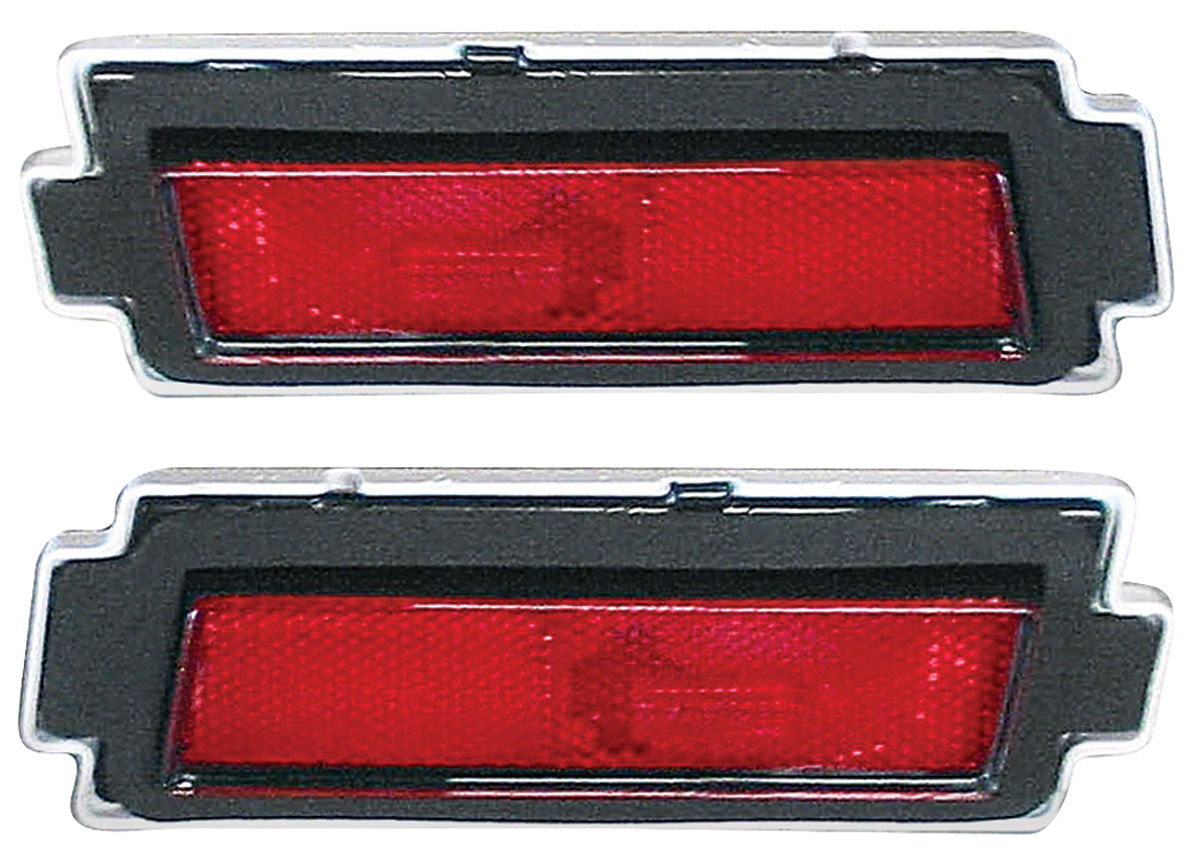 Marker Lamps, Rear, 1981-88 Monte Carlo